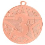 Bronze Superstar Medal -3rd Place  Super Star Medal Awards