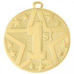 Gold Superstar Medal -1st Place  Super Star Medal Awards