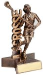 Super Star -Lacrosse Female Super Star Resin Trophy Awards