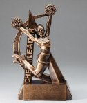 Ultra Action Resin Trophy -Cheerleading  Ultra Action Resin Trophy Awards