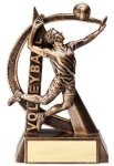 Ultra Action Resin Trophy -Volleyball Male Ultra Action Resin Trophy Awards