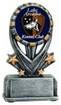 Varsity Resin -Insert Holder Varsity Sport Resin Trophy Awards
