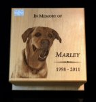 Memorial Pet Urn Wood Awards