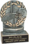 Football - Wreath Resin Trophy Wreath Resin Trophy Awards
